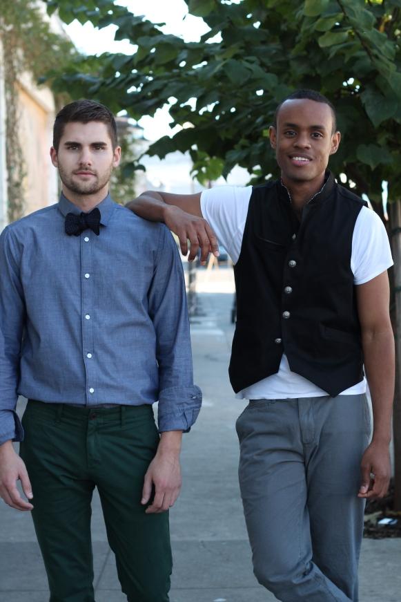 Shirt & Vest= Style