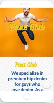Pant Club screen shot